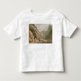 View of the Galerie d'Algaby near Valais Border Toddler T-shirt