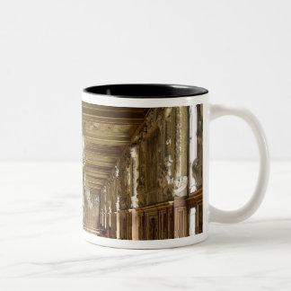 View of the Galerie Francois I, 1528-40 Two-Tone Coffee Mug