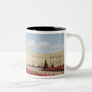 View of the garden facade Two-Tone coffee mug