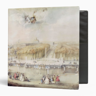 View of the Gardens and the Chateau of Versailles Binder