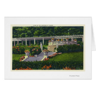 View of the Gardens at Yaddo Cards