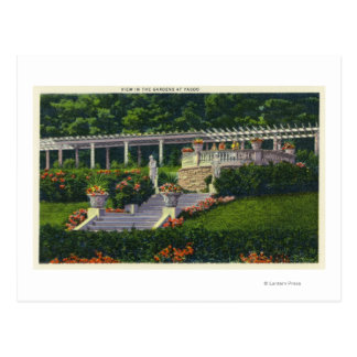 View of the Gardens at Yaddo Post Cards