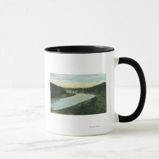View of the Genesee River Mug