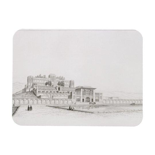 View of the Golestan Qajar Palace 'Kasr l Kadjar', Magnet