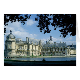 View of the Grand and Petit Chateau Card