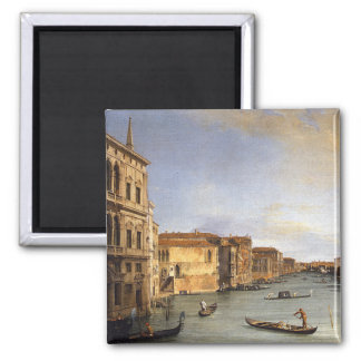 View of the Grand Canal, Venice - Canaletto Fridge Magnet