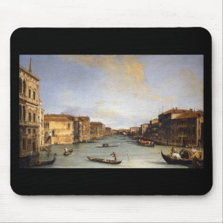 View of the Grand Canal, Venice - Canaletto Mouse Pad