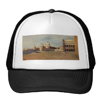 View of the Grand Canal, Venice, from the Riva Trucker Hat