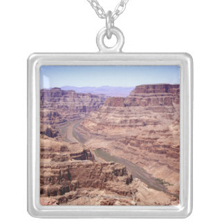 View of the Grand Canyon, Arizona Square Pendant Necklace