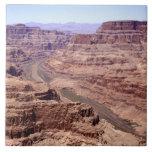 View of the Grand Canyon, Arizona Tile