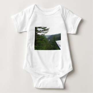 View of The Grand Canyon, PA Baby Bodysuit