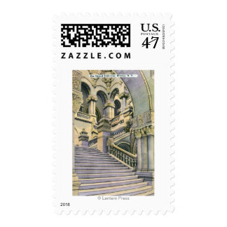 View of the Grand Staircase Postage