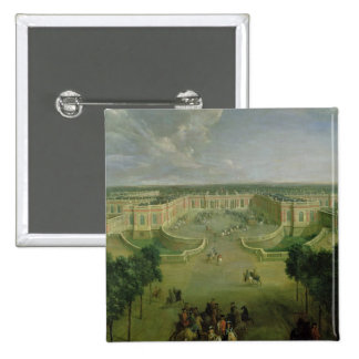 View of the Grand Trianon, 1722 Pinback Button