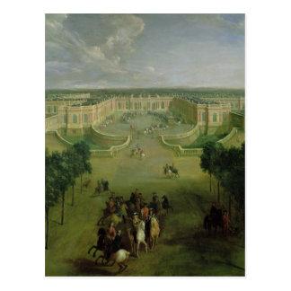 View of the Grand Trianon, 1722 Postcard