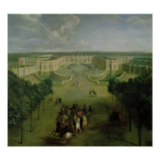 View of the Grand Trianon, 1722 Poster