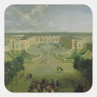 View of the Grand Trianon, 1722 Square Sticker