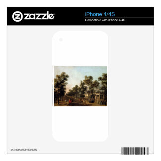 View Of The Grand Walk, vauxhall Gardens Decal For The iPhone 4S
