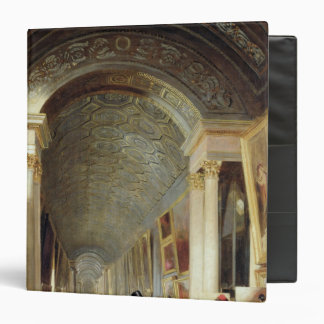 View of the Grande Galerie of the Louvre, 1841 Binder