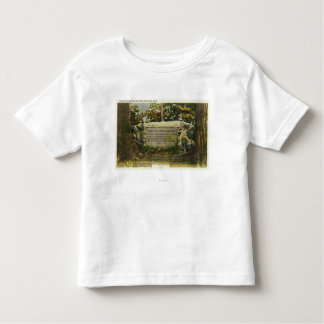 View of the Grave of British Soldiers Toddler T-shirt