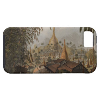 View of the Great Dagon Pagoda and Adjacent Scener iPhone SE/5/5s Case