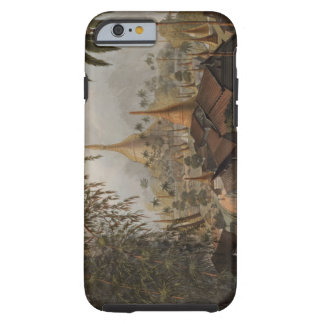 View of the Great Dagon Pagoda and Adjacent Scener Tough iPhone 6 Case