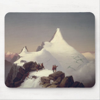 View of the 'Grossglockner' mountain Mouse Pad