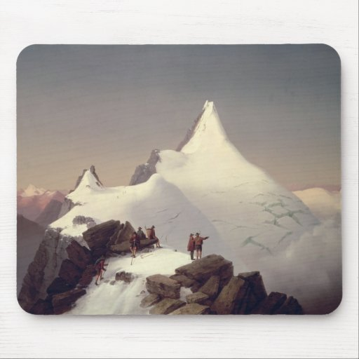View of the 'Grossglockner' mountain Mousepads