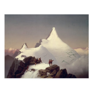 View of the 'Grossglockner' mountain Postcard