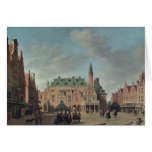 View of the Grote Markt in Haarlem Cards