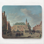 View of the Grote Markt in Haarlem Mousepad