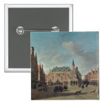 View of the Grote Markt in Haarlem Pin