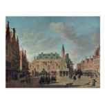 View of the Grote Markt in Haarlem Post Card