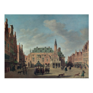 View of the Grote Markt in Haarlem Postcard