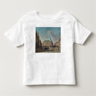 View of the Grote Markt in Haarlem T Shirt