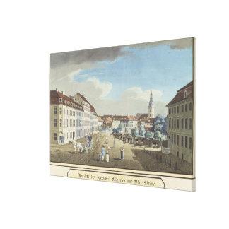 View of the Hackescher Markt Canvas Print