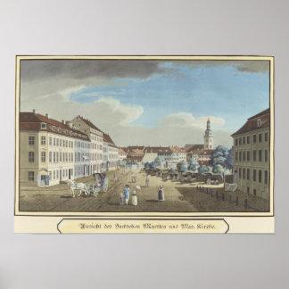 View of the Hackescher Markt Poster