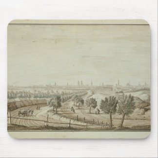 View of the Hallesch Gate Mouse Pad