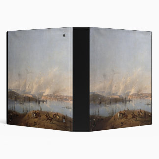 View of the Harbour of Sebastopol during the Crime 3 Ring Binder