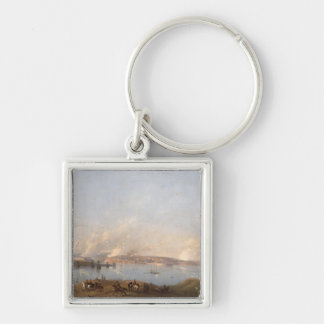 View of the Harbour of Sebastopol during the Crime Key Chain