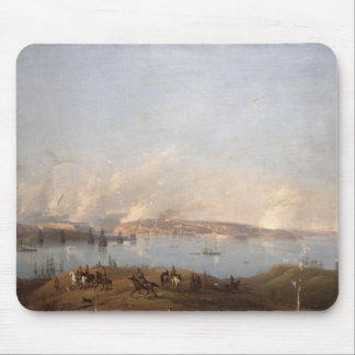 View of the Harbour of Sebastopol during the Crime Mouse Pad