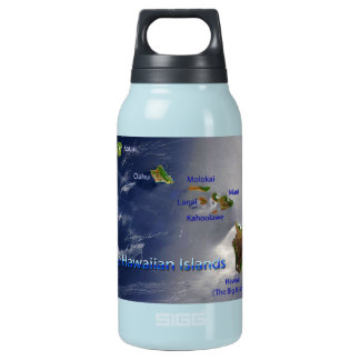 View of the Hawaiian Islands Insulated Water Bottle
