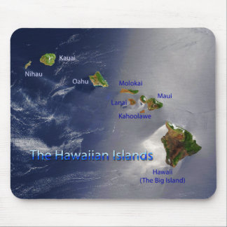 View of the Hawaiian Islands Mouse Pad