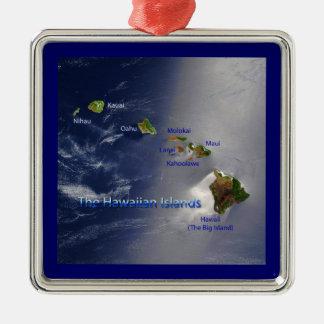 View of the Hawaiian Islands Ornaments