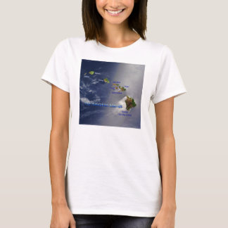 View of the Hawaiian Islands T-Shirt