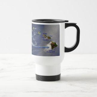 View of the Hawaiian Islands Travel Mug