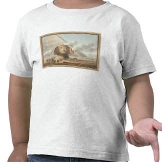 View of the Head of the Sphinx and the Pyramid of Tee Shirts
