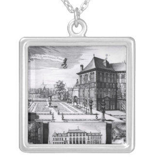 View of the Hilwerue House Silver Plated Necklace