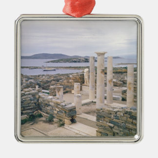 View of the House of Cleopatra Metal Ornament