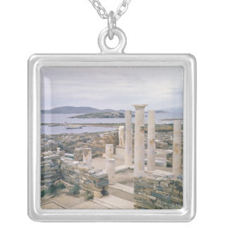View of the House of Cleopatra Silver Plated Necklace
