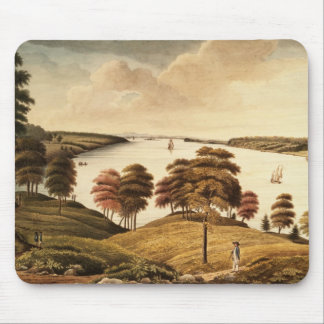 View of the Hudson River from Fort Knyphansen Mouse Pad